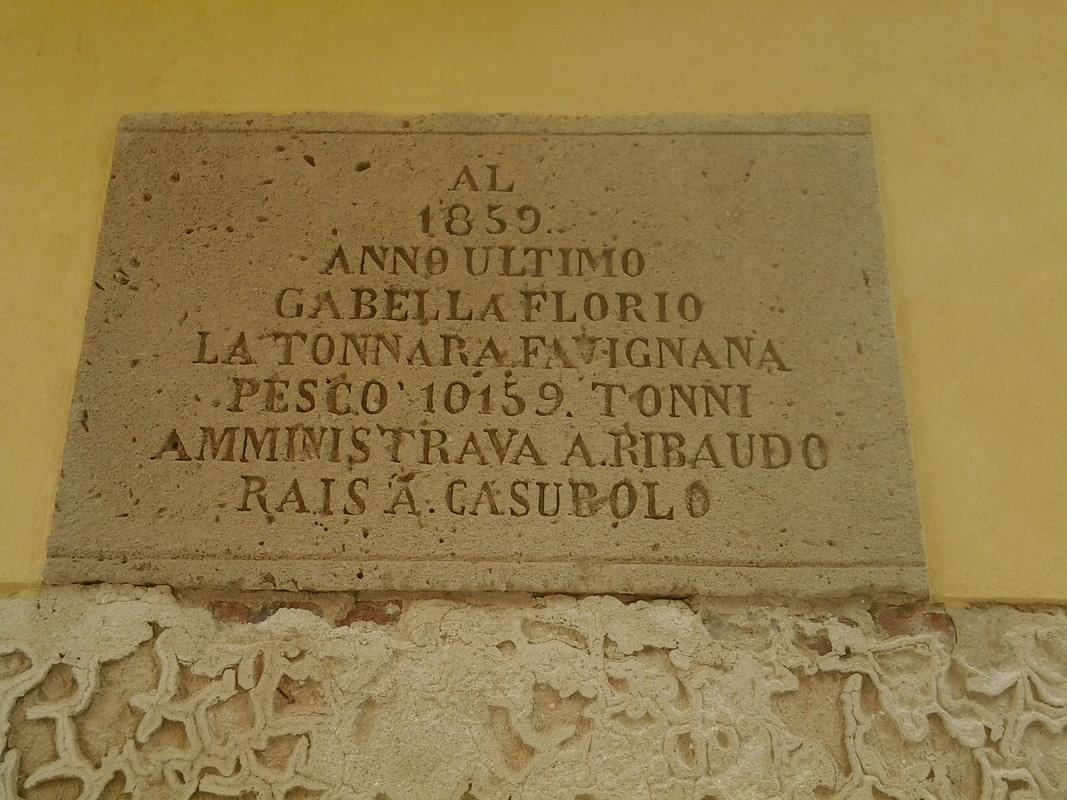 Lapide della Mattanza - Tonnara Florio di Favignana - Fonte Wikipedia